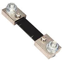 Шунт для амперметра 100А 75мВ с крепежными болтами