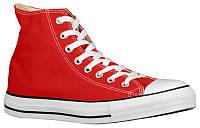 Кроссовки/Кеды (Оригинал) Converse All Star Hi Bright Red/White