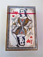 Карты игральные Дама  (54 шт) пластиковое покрытие, фото 1