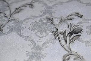 Обои на стену, серый, цветы, нежный, дуплекс, бумажная основа, B64,4 Артемида 8095-07, 0,53*10м, фото 2
