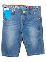 Шорты детские на мальчика джинс (4-12лет) B-006