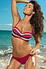 Стильный женский купальник M 296 MADISON (два цвета в размерах S, XL) Черный, S, фото 2