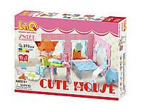 Конструктор LaQ Cute House Милый дом 370 деталей, фото 1