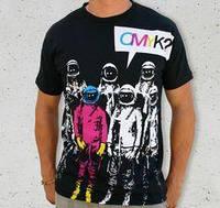 Шелкотрафаретная печать на футболках, нанесение изображений на футболки