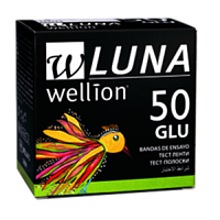 Тест-полоски Wellion Luna Глюкоза №50