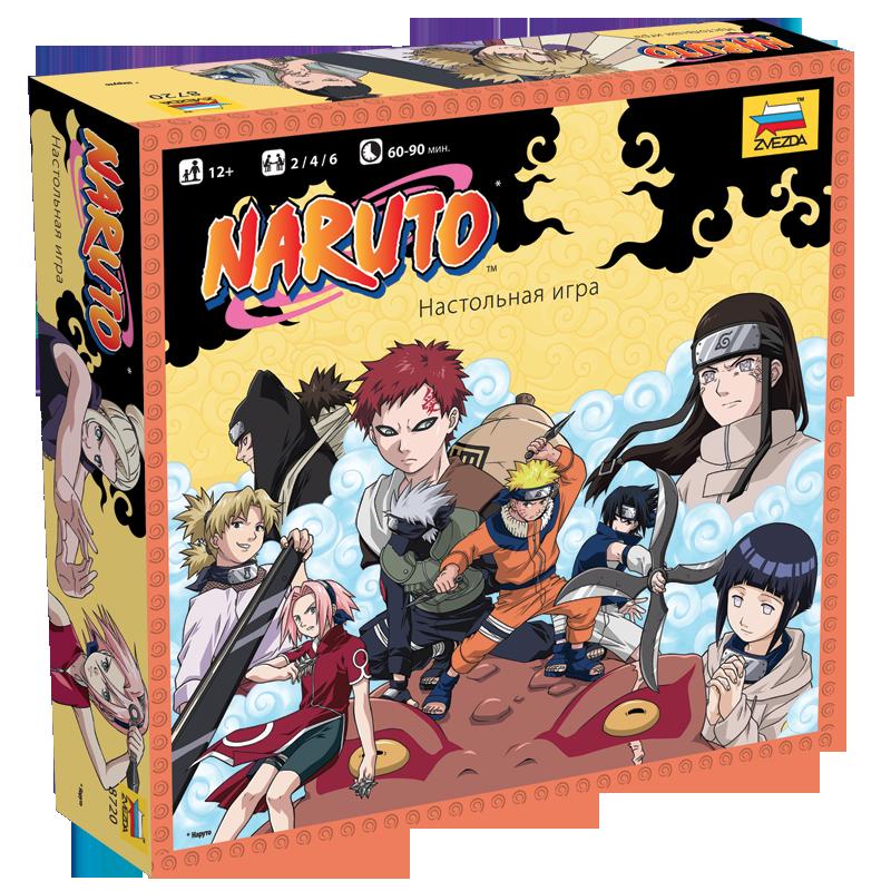 Настольная игра Наруто (Naruto)