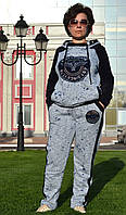 """Женский спортивный костюм """"EZE"""" из трикотажа (Турция); разм 48,50,52,54,56, фото 1"""