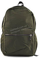 Вместительный качественный рюкзак Б/Н art. 8727 цвета хаки