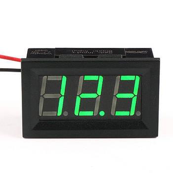 Цифровой вольтметр постоянного тока 4,5-30В DC Зеленый автономный