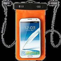 """Водонепроницаемый чехол с разъемом под наушники для смартфонов до 5.5"""" BINGO"""