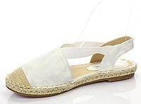 Текстильная летняя женская обувь