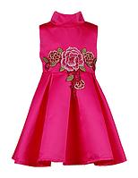 Вечернее атласное платье для девочек