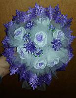 Свадебный букет-дублёр невесты (сиренево-фиолетовый)