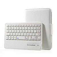Чехол клавиатура Bluetooth для планшета Samsung Galaxy Tab A 7.0 T280 T285 белый