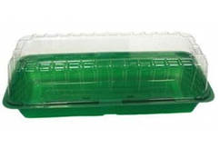 Мини парник зеленый Garland 37,5x13,5x12,5
