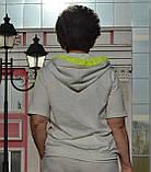 """Женский спортивный костюм """"EZE"""" из трикотажа(Турция); разм 48,50,52,54,56 (баталы), фото 2"""