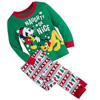 Детская пижама Mickey Mouse and Pluto Дисней на 3 и 4 года