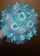 Свадебный букет-дублёр невесты (мятный)