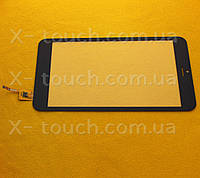 Тачскрин, сенсор Globex X8 GU8012C черный для планшета
