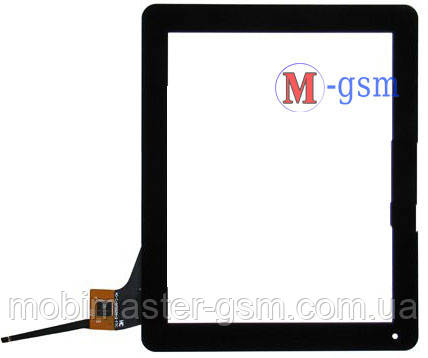 """Тачскрин (сенсорный экран) 9,7"""" Digma IDS 10, Explay Informer 921 (p/n:AD-C-970024-2-FPC) черный"""