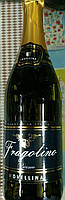 Итальянское белое игристое сладкое вино Fragolino Novellino Bianco с земляникой 0,75л