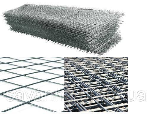 Сетка кладочная 0,38м х 2м (ячейка 100х100мм)