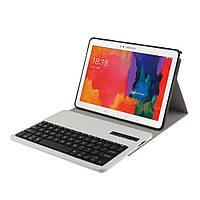 Чехол клавиатура Bluetooth для планшета Samsung Tab Pro 10.1 T520 T525 Note 10.1 P600 белый