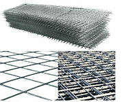 Сетка кладочная 0,5м х 2м (ячейка 100х100мм)