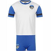 Детская футбольная форма CLUB Oldham Mini Kit (бело-синяя)