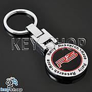 Металлический брелок для ключей R3 (Race Rally Research)