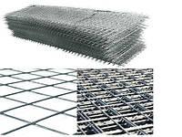 Сетка кладочная 1м х 2м (ячейка 100х100мм)
