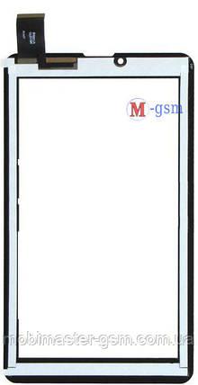 """Тачскрин (сенсорный экран) 7"""" ImPAD 6413 (p/n: HS1275 V106pq, FM707101KD, HS1283A HJ006GG00A_FPC,3070-A) белый, фото 2"""