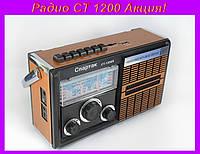 Радио CT 1200,Портативный MP3 Спикер CT 1200 Радио!Акция