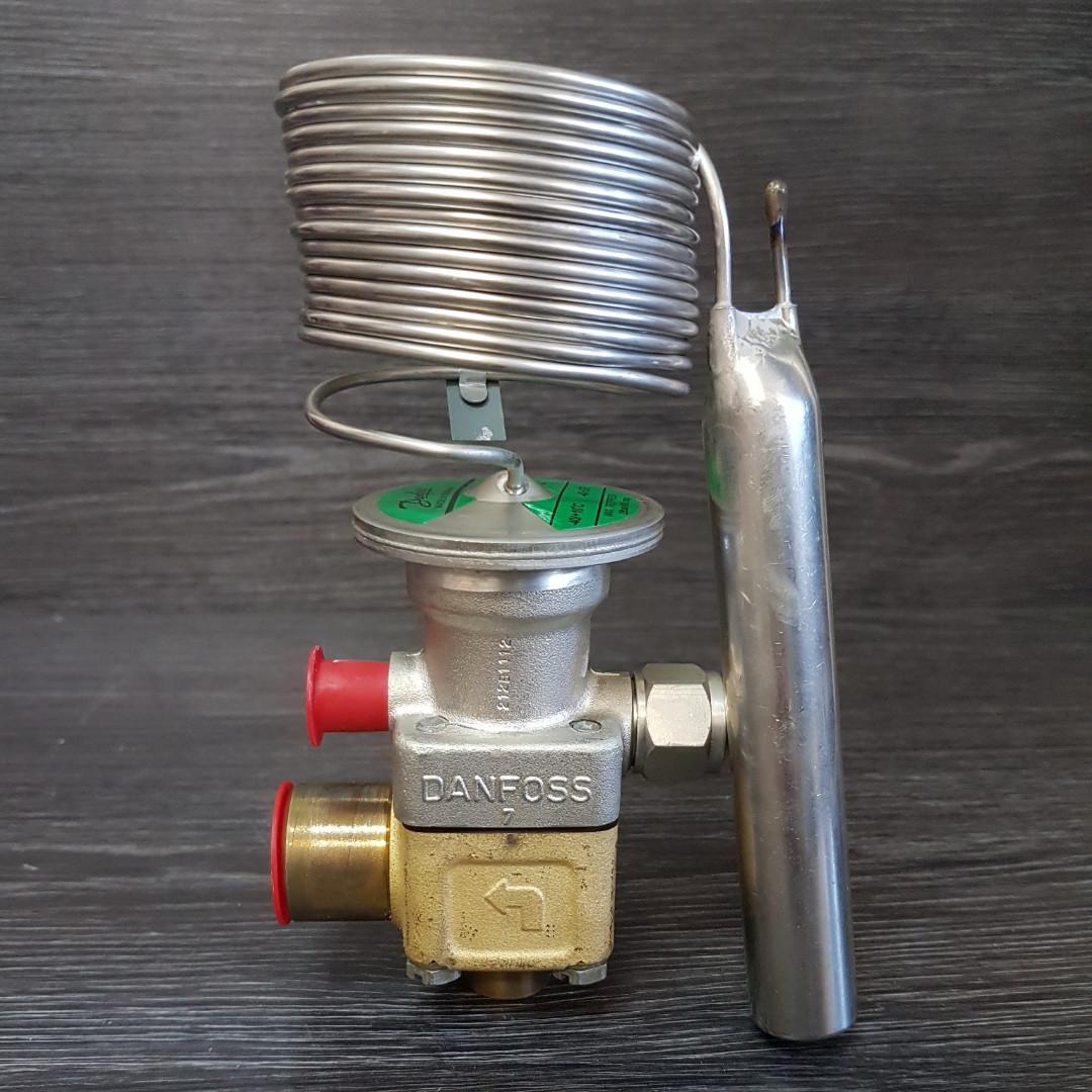 Терморегулирующий вентиль Danfoss TEX 5 (R -22) в сборе +основание и дюза