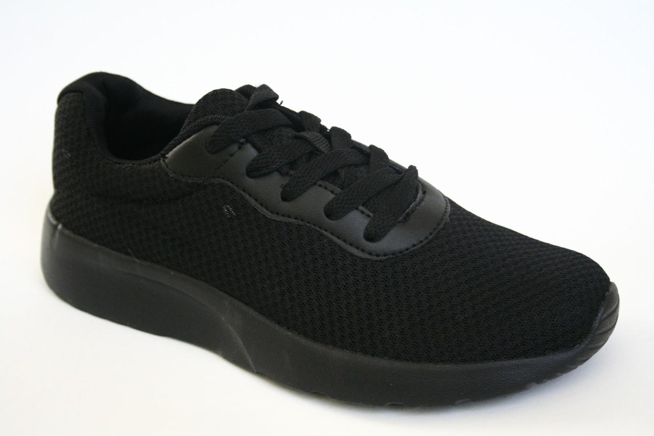 Кроссовки подростковые черные