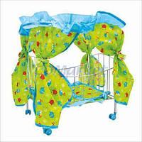 Melogo Акция! Детская кроватка для кукол Melogo 9350 / 015. Весенняя распродажа! Только 3-и дня! Спешите, количество товара ограничено! (до