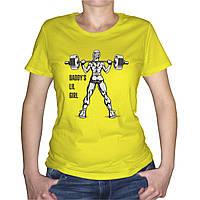 "Женская футболка ""Daddy`s little girl 2"", фото 1"
