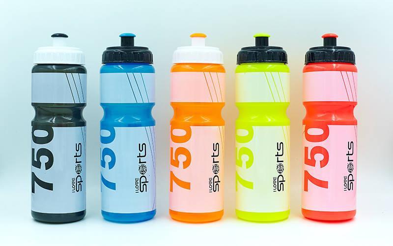 Спортивная бутылочка для воды I LOVE SPORT 750 мл