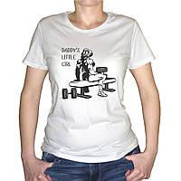 "Женская футболка ""Daddy`s little girl"""