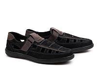 Туфли мужские Б-7 черный roksol размеры 40- 45