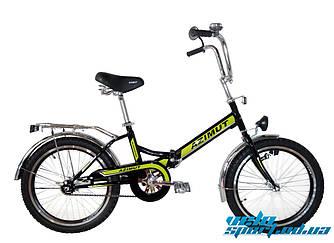 Складной велосипед Azimut 20*2009-1 с фарой
