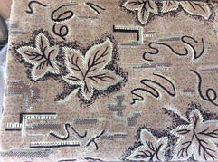 Листья двуспальный комплект гобеленовых покрывал на диван и кресла