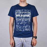 Мужская синяя футболка Red and Dog «Heat Made - Indigo»