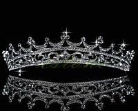 Диадема свадебная Корона с кристаллами