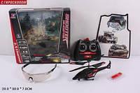Р.У.Вертолет 343 с гироскопом,очками и USB кор.21*4*11 ш.к./24/ 343
