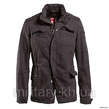 "Куртка вінтажна ""SURPLUS DELTA BRITANNIA"", [1346] Washed black"