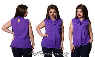 Блузка в больших размерах в расцветках (0030-414)