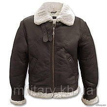 Куртка лётная кожаная американская B3