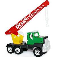 """Детская машинка (грузовик) """"Кран цветной"""" арт. МГ129 МГ 129"""