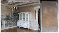 Античный стиль интерьера. Состаренные стены